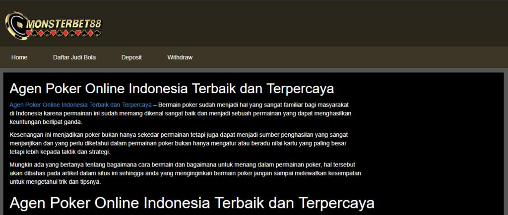 OneBet88 PolisiJudi Online Indonesia 2018