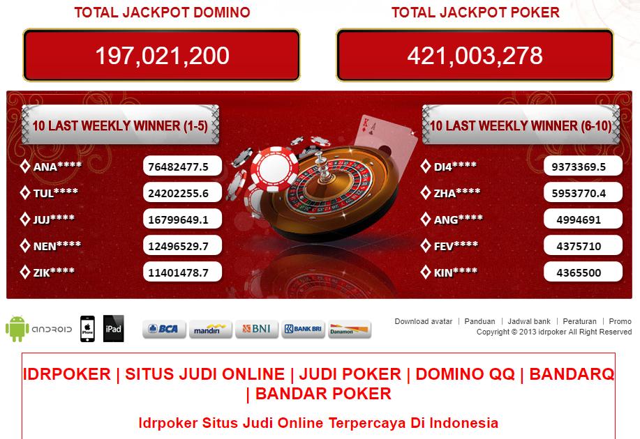 IDRPoker PolisiJudi Online Terbaik Indonesia 2019