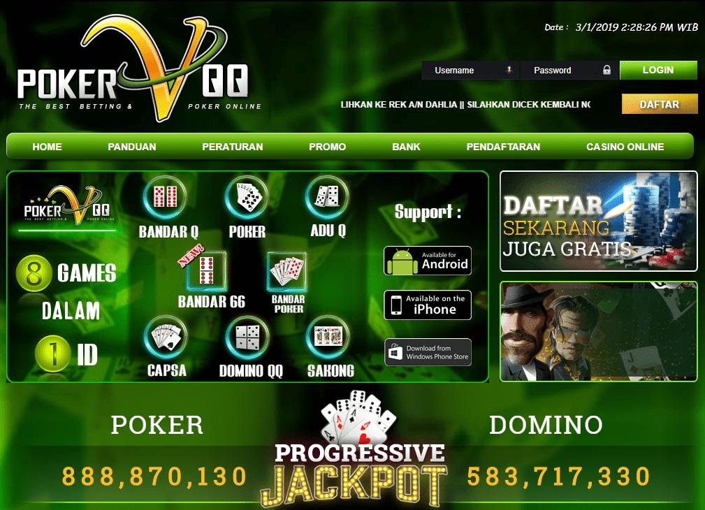 PokerVqq Polisi Judi Online Indonesia 2019